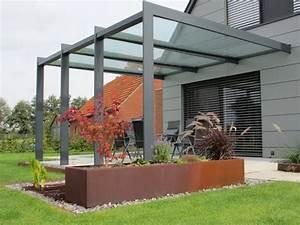 Terrassenüberdachung Aus Stoff : triphaus metall in form und farbe terrassen berdachungen terrassen dach pergola ~ Markanthonyermac.com Haus und Dekorationen