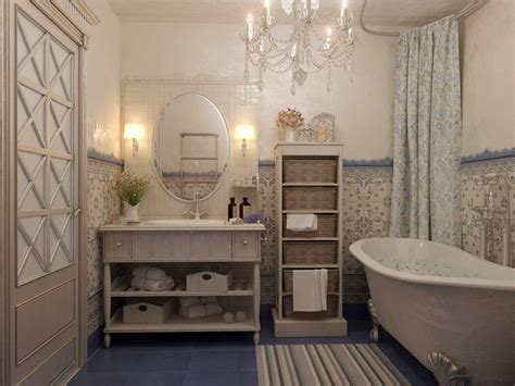 How To Design A Bathroom In French Style From A To Z Warm Lighting For Living Room Wisteria Dining French Provincial Sets Wood Design Queen Anne Cherry Chairs Black Sofa Decorating Ideas Small Country Swivel Leather
