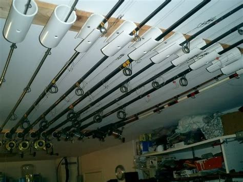 Homemade Fishing Rod Storage For Boats by Diy Fishing Rod Holder Instructions