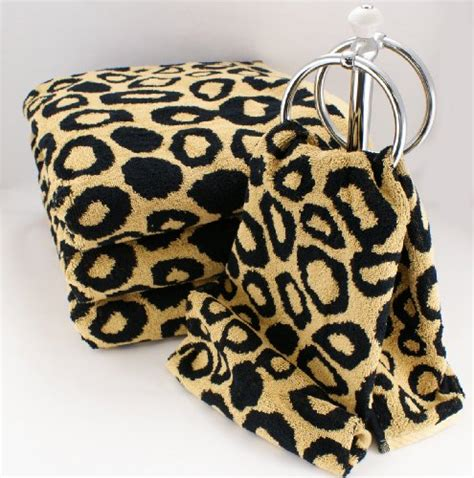 Leopard Print Bathroom Accessories by Animal Print Decorating Ideas House Experience