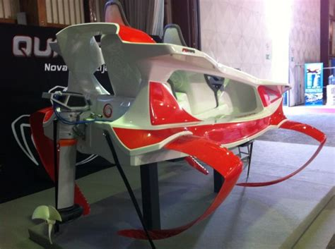 What Does Hydrofoil Boat Mean by Slovenian Hyrofoil Pwc Claims 22 Knots With Torqeedo