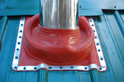 Rubber Boot For Stove Pipe by Stove Pipe Stove Pipe Boot For Metal Roof