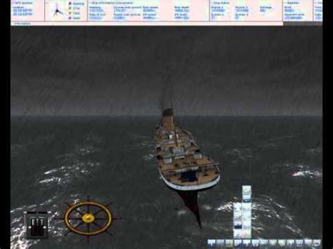 ship simulator 2008 titanic sinking fail