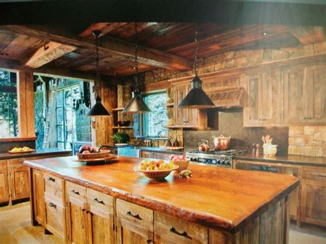 cabin kitchen kitchen design