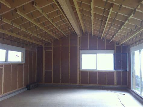 isolation avec de la de bois un mat 233 riaux sain et naturel grenoble travaux