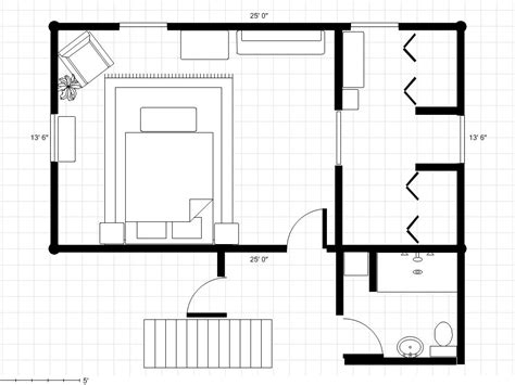 ' X ' Master Bedroom Plans
