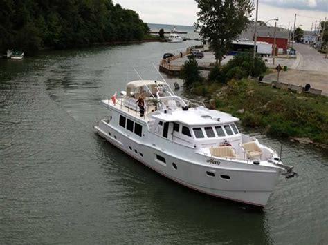 Long Island Motor Boats For Sale by Custom Boat Mfg Dovercraft Trawler 2013 Occasion Bateau 224