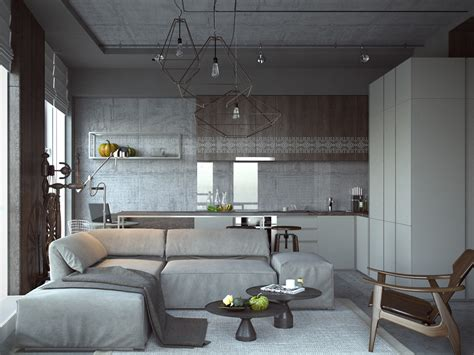 Studio Apartment : Open Studio Apartment Designs