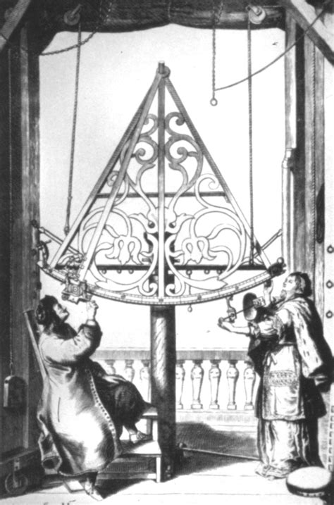Sextant User S Guide by Hevelius With His Sextant And Wife Elizabeth
