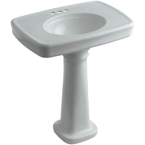 kohler bancroft vitreous china pedestal combo bathroom