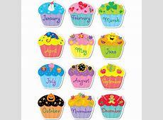 Poppin' Patterns Birthday Cupcakes Stickers Kool & Child