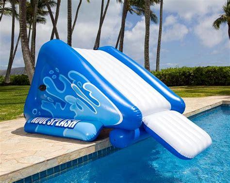 toboggan gonflable pour piscine intex 58849np piscine co