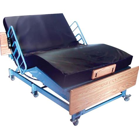 medline pride electric bariatric bed hospital bed