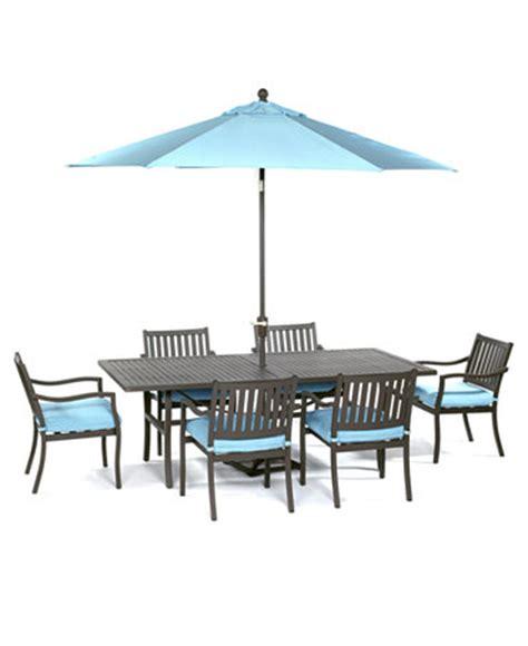 holden outdoor patio furniture 7 set 84 quot x 42