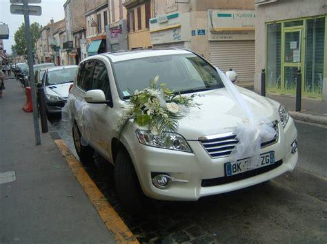 d 233 coration florale pour votre voiture de mariage