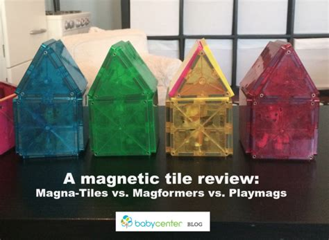 magna tiles vs magformers a magnetic tile throwdown babycenter