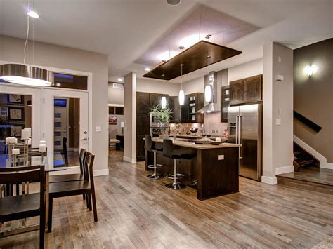 Open Concept Kitchen Enhancing Spacious Room Nuance
