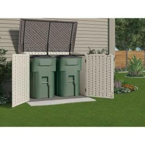 suncast sheds storage the stow away 3 ft 8 in x 5 ft