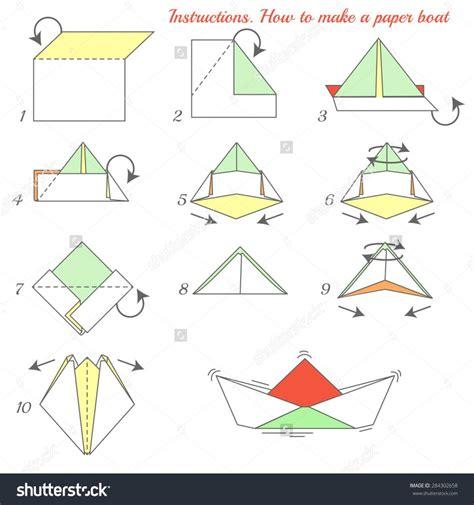 Origami Boat Video by Origami Scenic Origami Boat Instructions Fun Origami