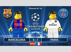 Barcelona vs PSG Paris SaintGermain 61 • Champions