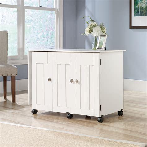 sauder select sewing craft cart 414873 sauder