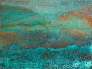 Kupfer Grüne Patina : patina copper ii wall painting pinterest farben wandfarbe und malerei ~ Markanthonyermac.com Haus und Dekorationen