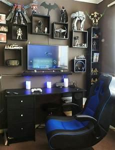 Gaming Zimmer Deko : gaming desks gaming pinterest coole zimmer haus und kinderzimmer ~ Markanthonyermac.com Haus und Dekorationen