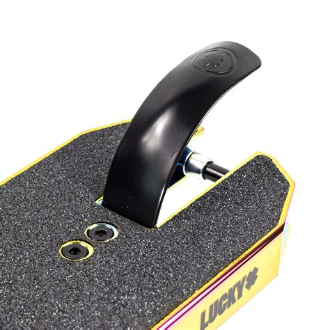 lucky scooters prospect pro neogold scooter deck atbshop co uk
