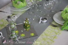 d 233 co de table vert anis et lilas i d 233 coration table vert