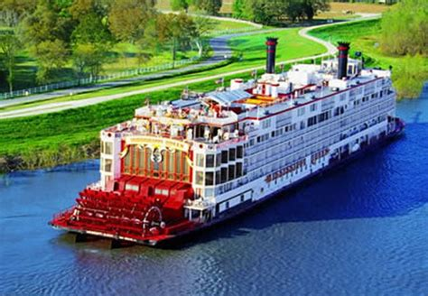 Mississippi Queen Riverboat Cruises by Mississippi Riverboat Cruises United States Vacation Guide