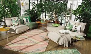 Pflanzen Für Wohnzimmer : wandgestaltung wohnzimmer der urban jungle look das haus ~ Markanthonyermac.com Haus und Dekorationen