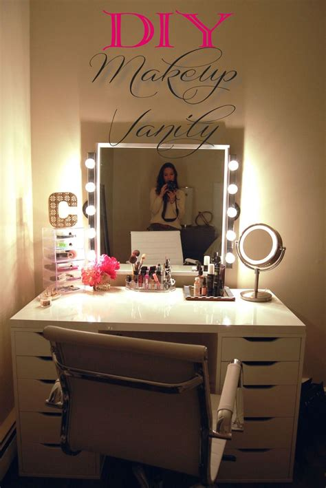 25 best ideas about diy makeup vanity on