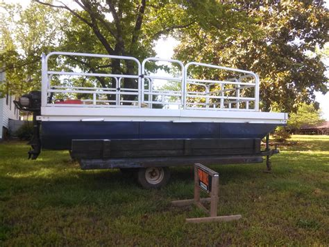 Little Pontoon Boat by Rettey Little Cruiser 2008 For Sale For 1 800 Boats