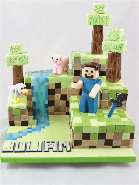 Minecraft  Torte Das Ist Wirklich Eine Schöne Idee Zum