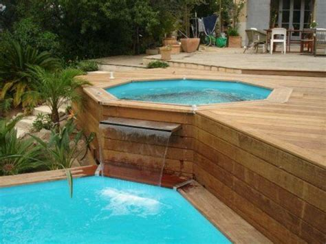 17 best ideas about piscine hors sol on raised pools swimming pool decks and diy