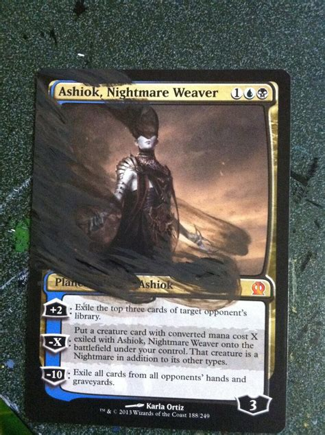 ashiok nightmare weaver deck commission by rinji chan on deviantart