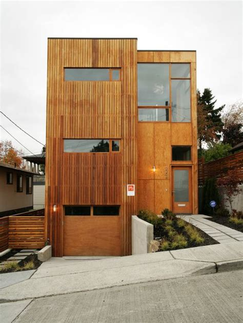 Plywood Siding Home Design Ideas, Pictures, Remodel And Decor