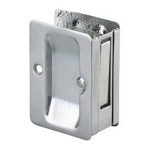 richelieu hardware 3 7 32 in brushed chrome pocket door