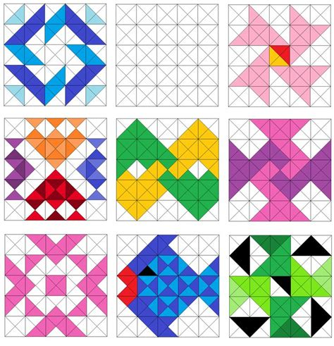 Triangle Quilt Border Templates by 899 Best Quilting Templates Blocks Borders Images On