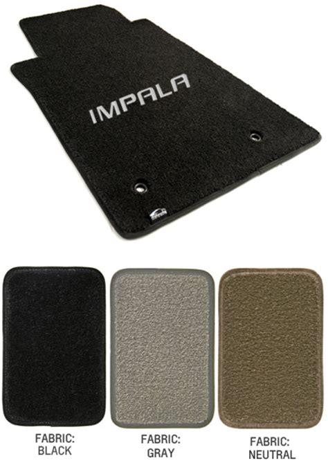 2006 2013 impala logo floor mat set choose color chevymall