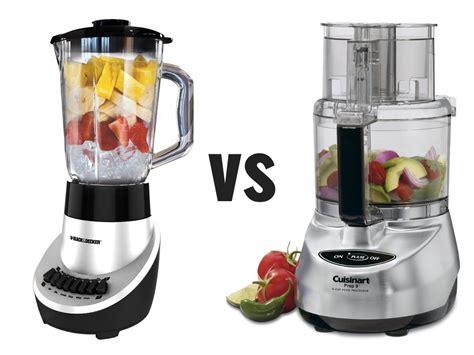 Blenders vs Food Processors