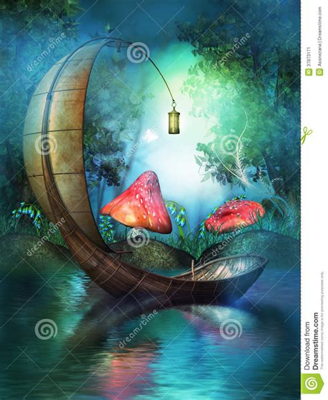 Fairy On Boat by Fairy Boat Stock Image Image 37873171