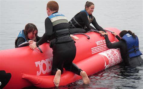 Banana Boat Group by Water Sports Banana Boat Group Acitivity Loch Lomond