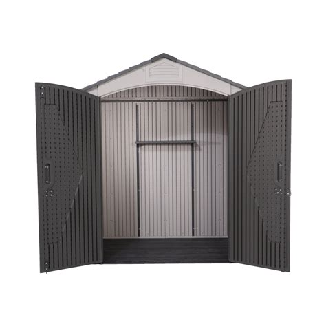 garden sheds lifetime 7x7 heavy duty plastic shed
