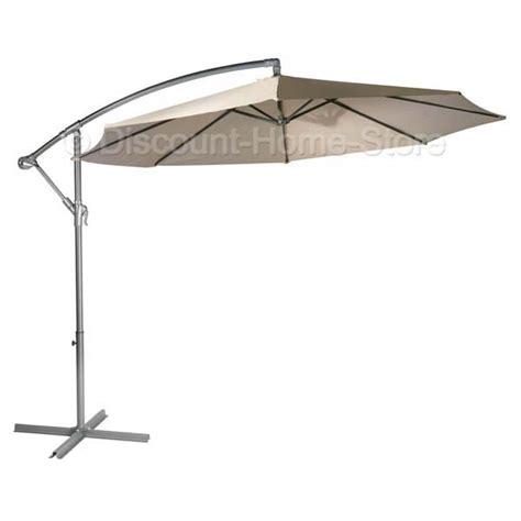 3m cantilever large parasol umbrella garden sun shade foldaway ebay