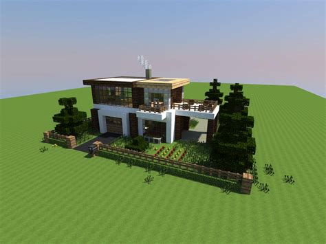 Cool Minecraft Modern House  Building Plans Online #51561