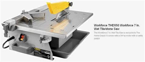 i a workforce thd550 tile saw after changing the blade it runs backward why the home