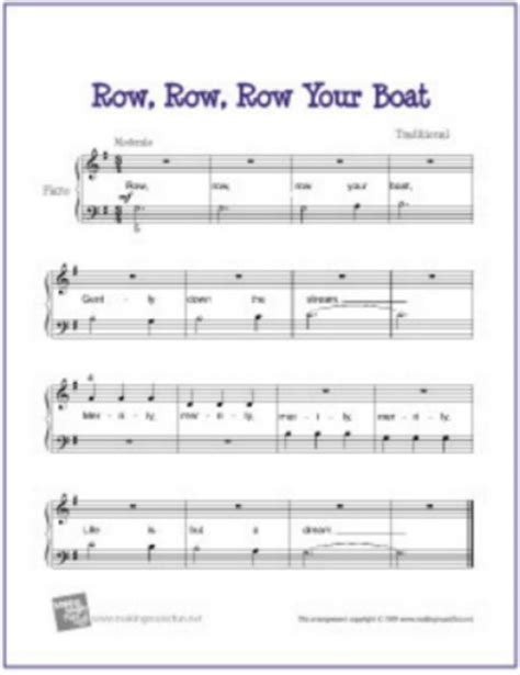 Row Row Row Your Boat Notes Piano by The Best List Of 20 Easy Piano Sheet Music For Children