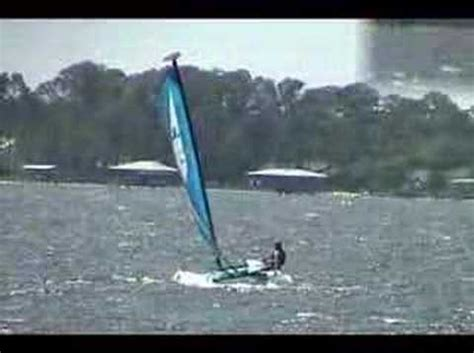 Catamaran Flying Hull by Flying A Hull On A Hobie Wave Catamaran How To Save