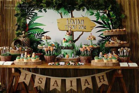 Kara's Party Ideas Jungle Themed Birthday Party Kara's